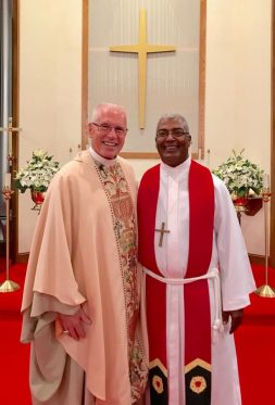 Ordination with Bishop John Bradosky